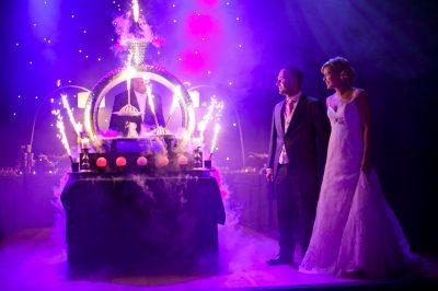 huwelijkstaart le grand salon te Beersel