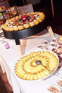 buffet desserts  traiteur aromate - huwelijk mariage feestzaal salle de mariage