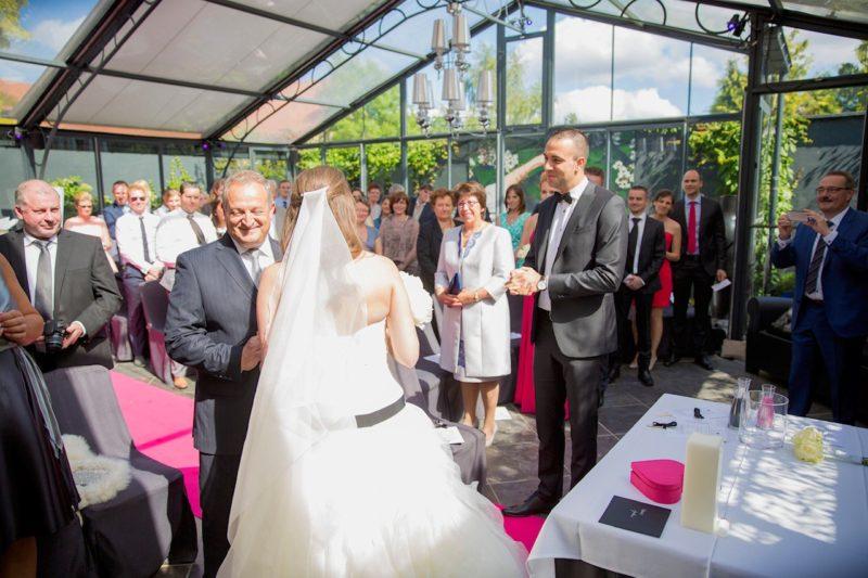 cérémonie III Orangerie @ le grand salon in Beersel 2