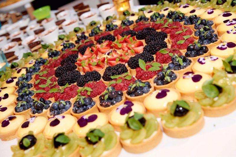 buffet dessert - traiteur aromate - huwelijk mariage feestzaal salle de mariage