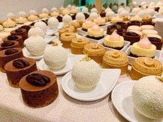 dessert buffet soft Hivert winter traiteur aromate - huwelijk mariage feestzaal salle de mariage