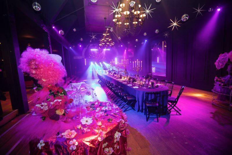 diner met table vivante - traiteur aromate - huwelijk mariage feestzaal salle de mariage