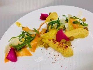 végétarien - végétarisch - végan - glüten free - lactose free - traiteur aromate - huwelijk mariage feestzaal salle de mariage